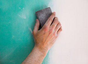 sanding sponge drywall